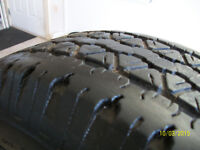 GoodYear Wrangler RT/S 255/70R16 M&S Tires