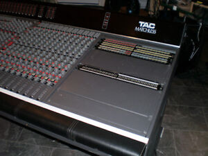 TAC Matchless 36  recording board from Johnny Cash's home studio