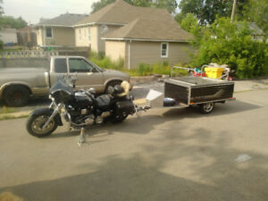 TIMEOUT DELUXE Motorcycle TENT TRAILER
