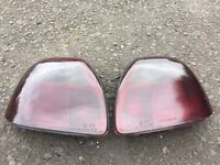 *SMOKED* Pair of TOYOTA MR2 REAR LIGHTS WITH BULBS GOOD CONDITION