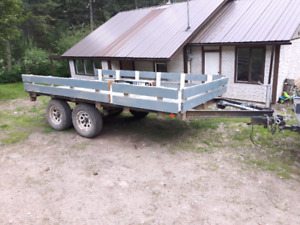 6x12 trailer tandem 3500 lb axle with brakes