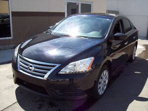 """2013 NISSAN SENTRA """"Aut""""! Only 82500km! Nicely equipped! Black!"""