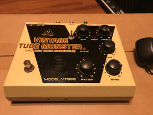Behringer Vintage Tube Monster with BitMo Mod