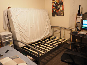 Good Condition bed frame and mattress