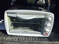 Sylvania stainless steel toaster oven for sale.