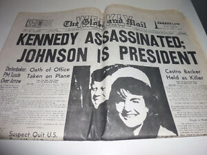 Historic magazine and newspaper Kennedy/Churchill