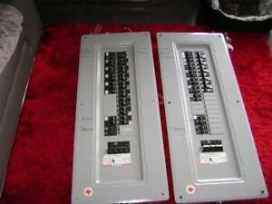 boîte électrique avec breakers