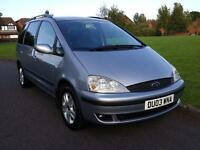 Ford Galaxy 1.9 TDI + GHIA MODEL + 7 SEATER + DIESEL+ FULL SERVICE HISTORY