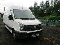 VOLKSWAGAN CRAFTER CR35 LWB £13995