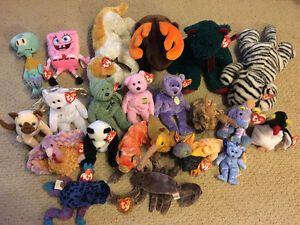 TY Beanie Babies With Tags On Peterborough Peterborough Area image 1
