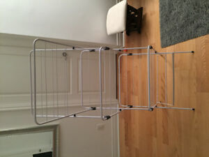 Foldable clothes dry rack