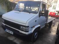LEFT HAND DRIVE Fiat Ducato LWB Recovery flat bed TRUCK 2.0JTD 15 cheap to run