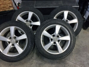 4x size 16 summer tires like new w/Mags! Yokohama P205/55/R16