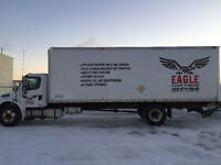 Professional delivery, moving and trucking company for hire