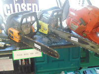 GAS POWERED CHAINSAWS FOR SALE @ ABC EXCHANGE!!!