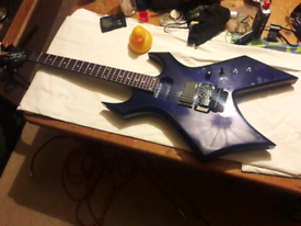 B.C. RICH Platinum Pro Warlock Electric Guitar
