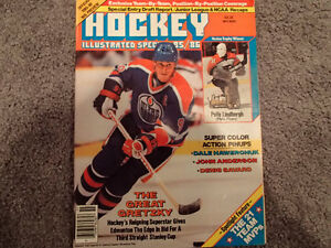 NHL Hockey Illustrated Magazine Special 1985/86 Wayne Gretzky