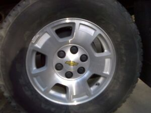"WANTED: 17"" WHEELS to fit 2013 CHEV/GMC 1/2-ton"
