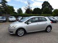 LOW MILEAGE 2007 TOYOTA AURIS 1.6 VVT-i T SPIRIT PETROL MANUAL CIVIC GOLF
