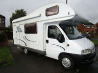 Hymer C544 Classic 5 Berth Luxury Motorhome For Sale