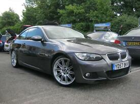 2007 57-Reg BMW 330i M Sport Coupe,75,000 MILES,BIG SPEC!! SAT NAV!!!