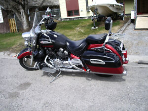 Motorcycle and Trailer for sale
