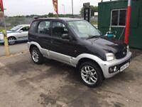 Daihatsu terrios 1.3 petrol 4x4, 73000 miles,2004,£899.
