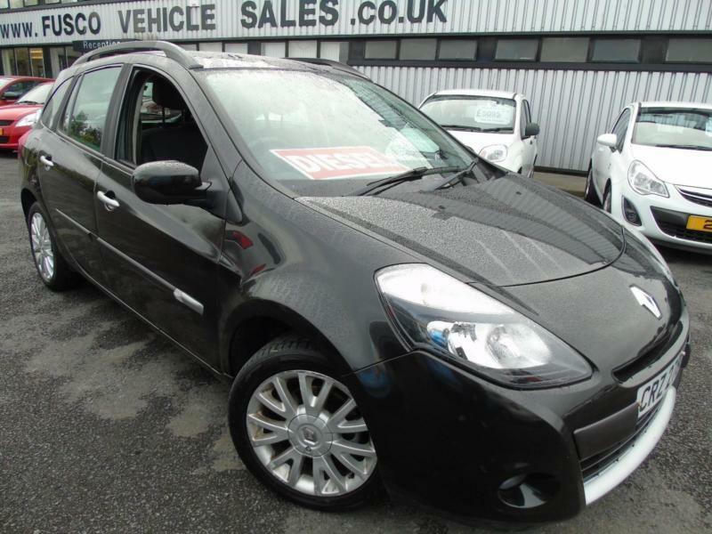 renault clio 1 5td 86bhp sport tourer dynamique black platinum warranty in bangor. Black Bedroom Furniture Sets. Home Design Ideas