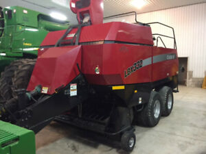 Case lbx 332P large square baler