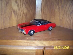 8 Diecast Cars 1/18 Scale