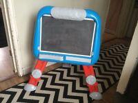 Thomas the tank chalk & white board