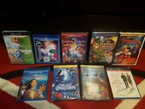 Brand New movies: Disney and Pixar. Great prices