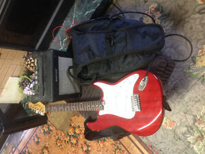 Electric guitar/amp/case for sale Melfort area