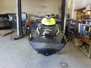 2013 Sea Doo RXT X 260 with Trailer