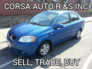 $$$ SAVE 2007 Pontiac Wave Sedan  SAVE$$$