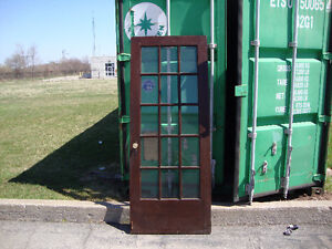 100 yr/old Gum wood doors and trim