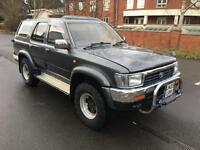 Toyota Hilux Surf 2.5 TD. LOW MILEAGE, 55 K ON THE CLOCK! NO VAT TO PAY.