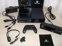 Xbox One Console 500gb Day One edition like new