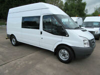 2011 Ford Transit 350 Lwb Mpv 8 Seater Welfare Van Mess Unit Crew Utility Road