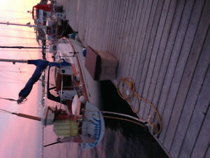 A proven ocean going sailboat priced to sell