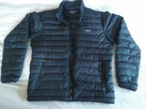 LIKE NEW - Black Patagonia Men's Down Sweater Jacket  - medium