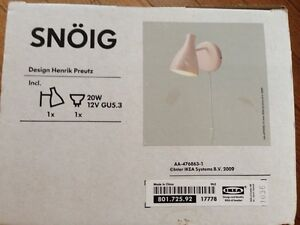 IKEA SNOIG wall lamp. Brand new in package. London Ontario image 1