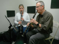Clarinet, Saxophone & Recorder Lessons