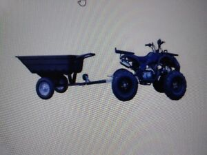 GIO TRAILERS FOR YOUR ATV OR TRACTORS
