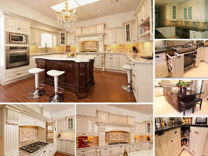 Antique white maple Kitchen and Vanity on Warehouse clearance!!!