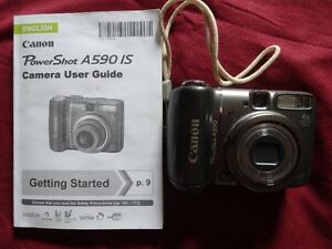 Camera - Canon A590IS