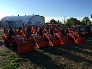 KUBOTA BX SERIES TRACTORS-HUGE SALE!!! 0% FOR 84 MONTHS Kingston Kingston Area image 2