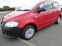 2007 Volkswagen Fox 6V Petrol red Manual