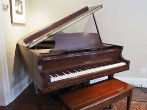 Mason and Risch Baby Grand Piano, Completely Restored