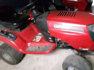 moving must sell 2 lawnmower + snow blower attachments